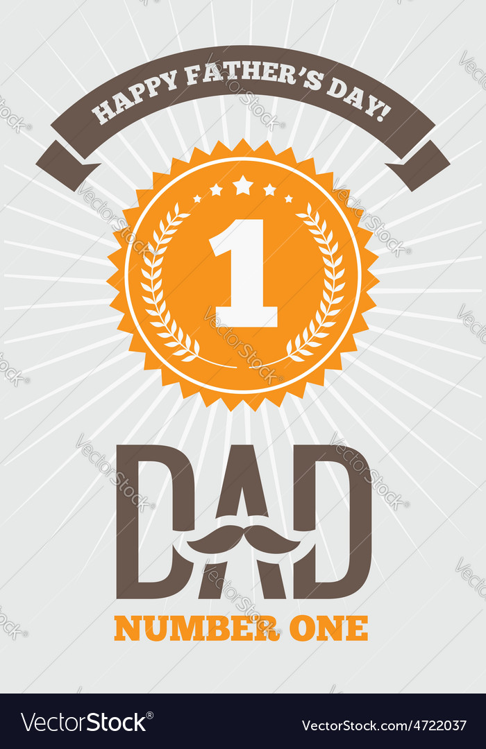 Dad number one 1