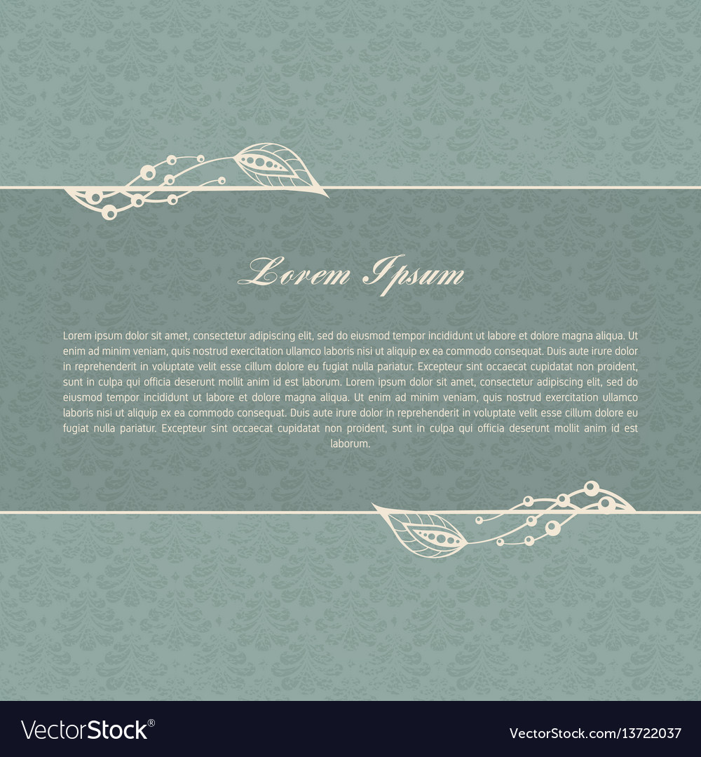 Gray-blue calligraphic elements