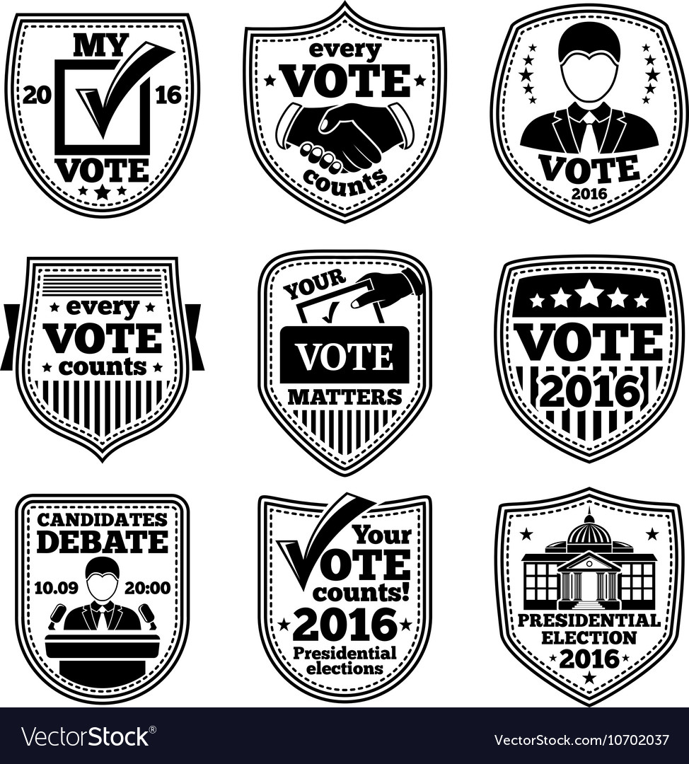 Set of vote labels For presidential