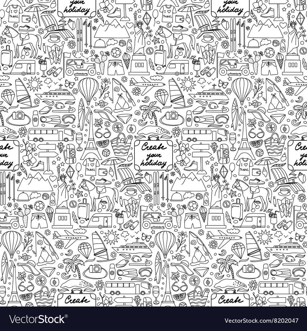 Create your Holiday Seamless Pattern