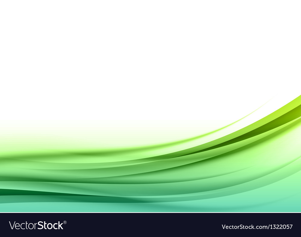 Abstract green back vector image