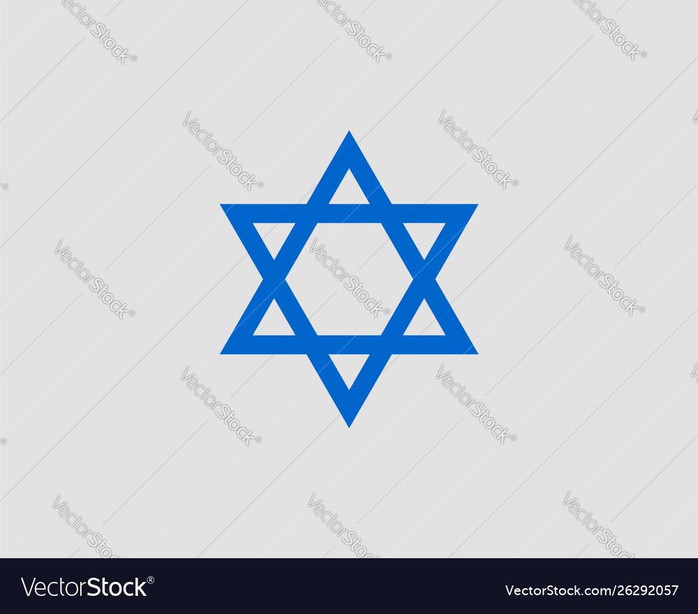 Jewish star david icon six pointed stars symbol