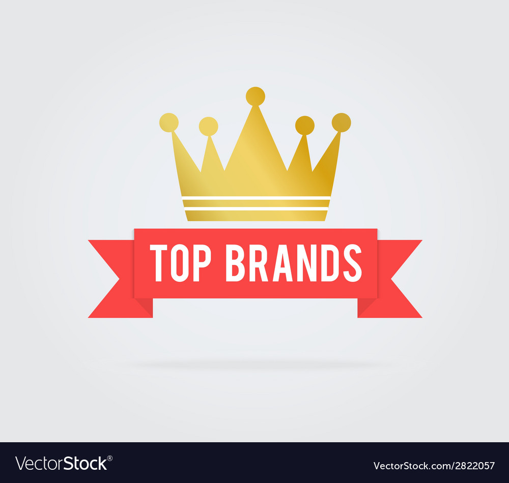 Top brand card tag