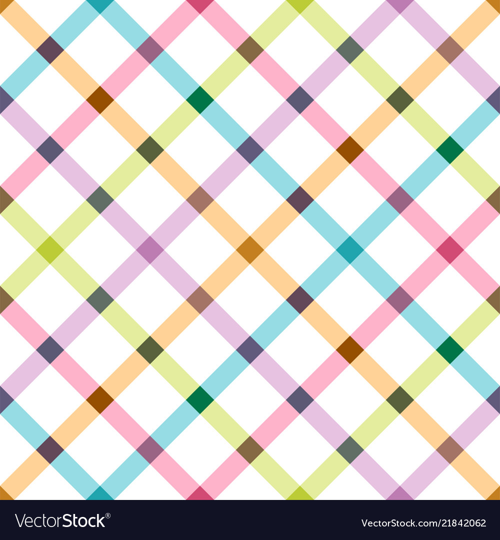 Bright seamless pattern - colorful design grid