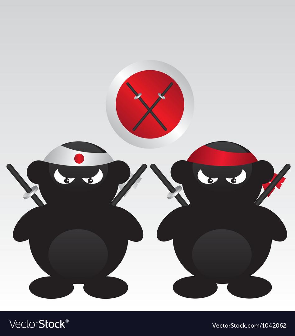 Ninja warrior cartoon