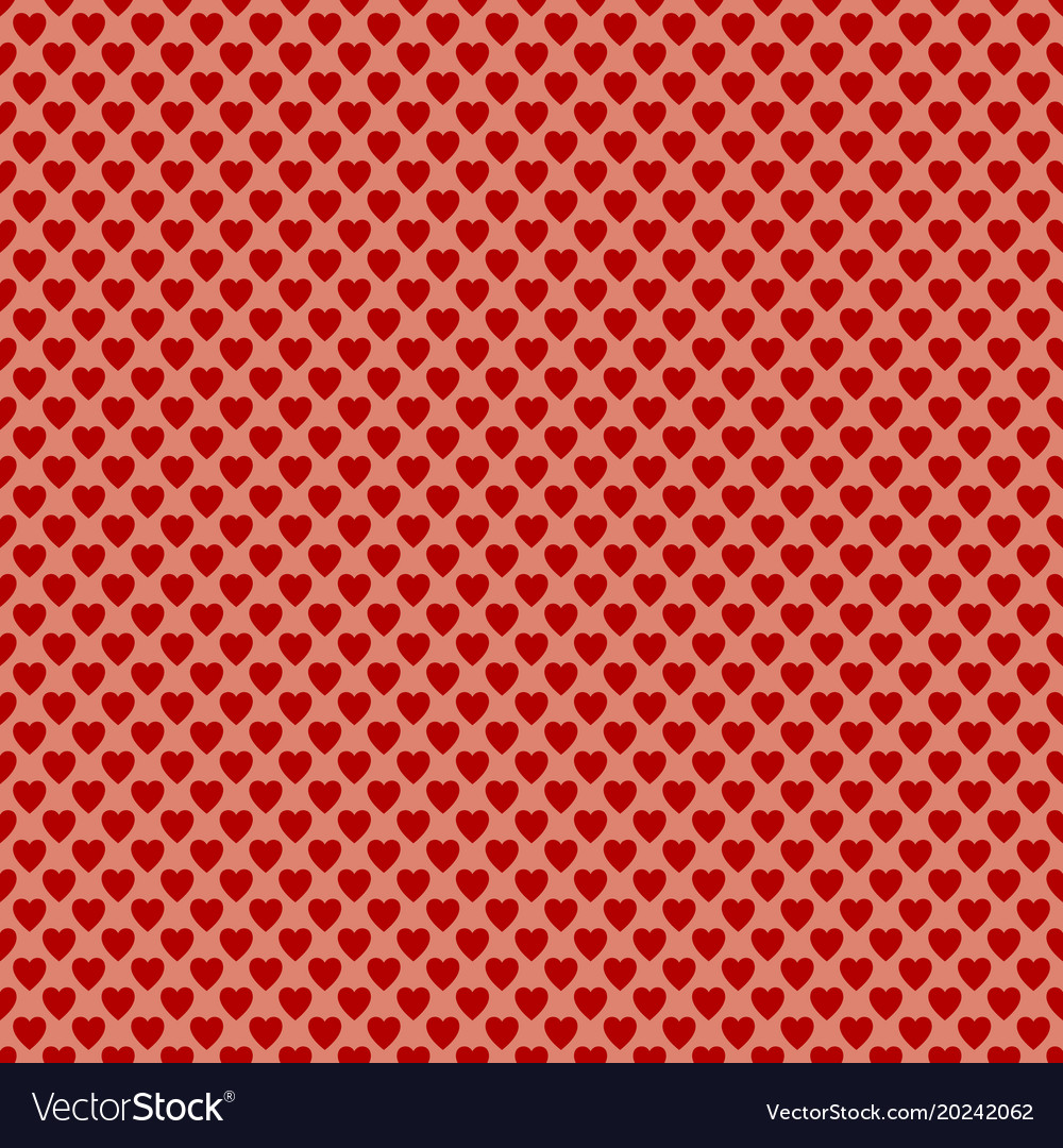 Seamless heart pattern background - valentines