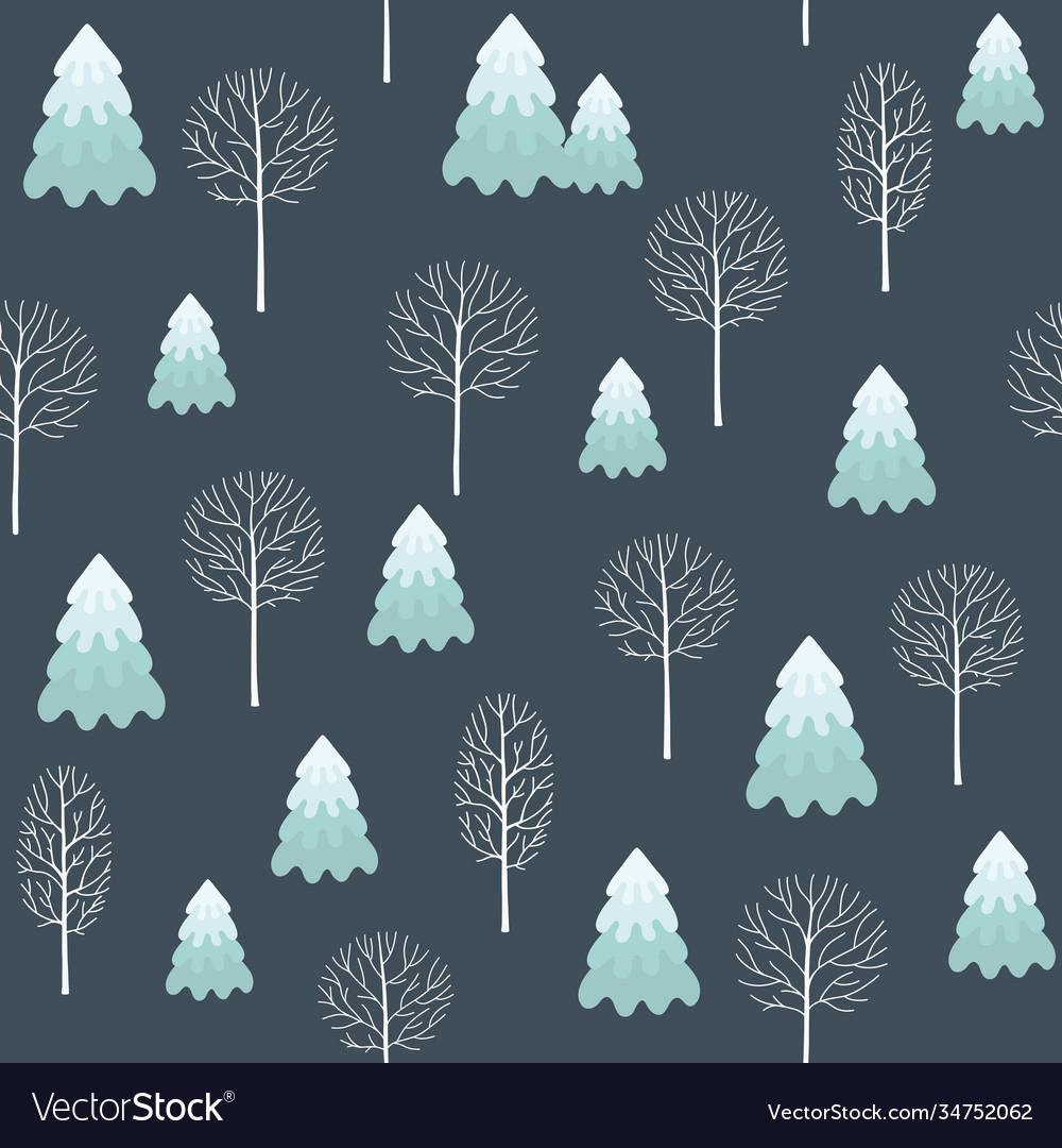 Winter seamless christmas pattern for design