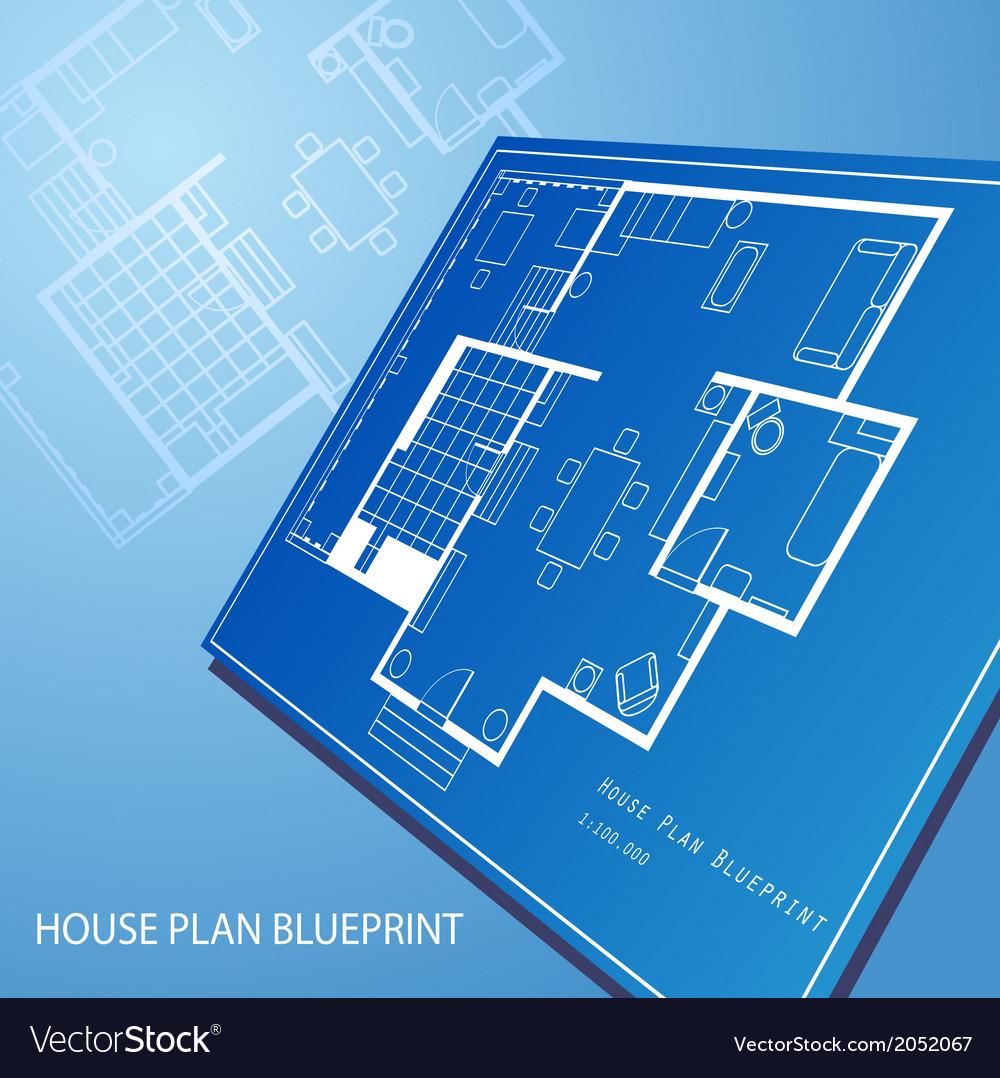 House plan blueprint text background royalty free vector house plan blueprint text background vector image malvernweather Images