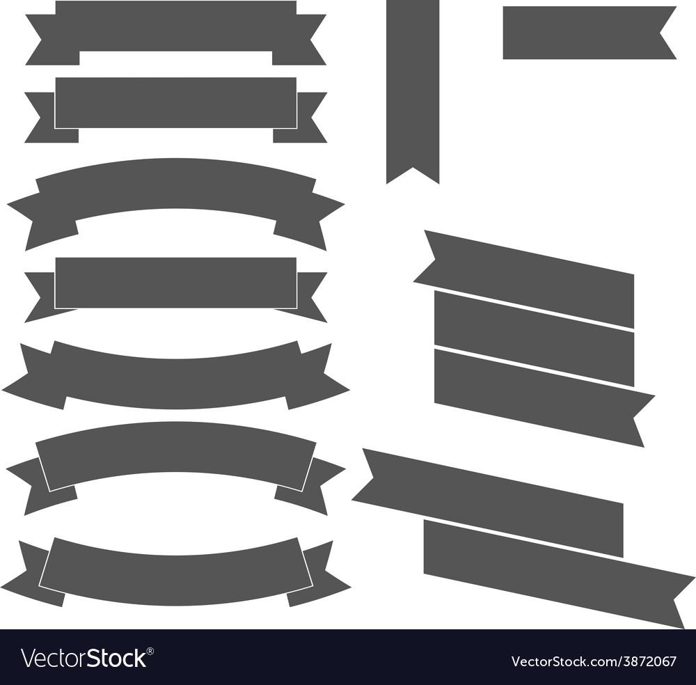 Ribbons Design elements