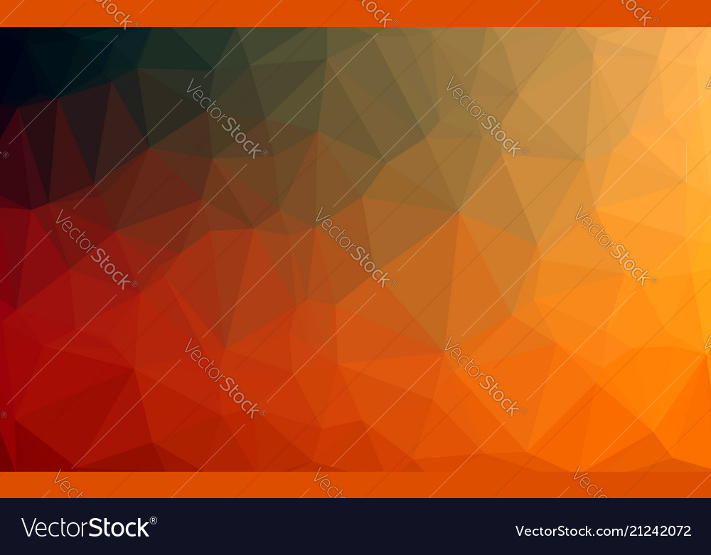 Abstract colorful low poly background with