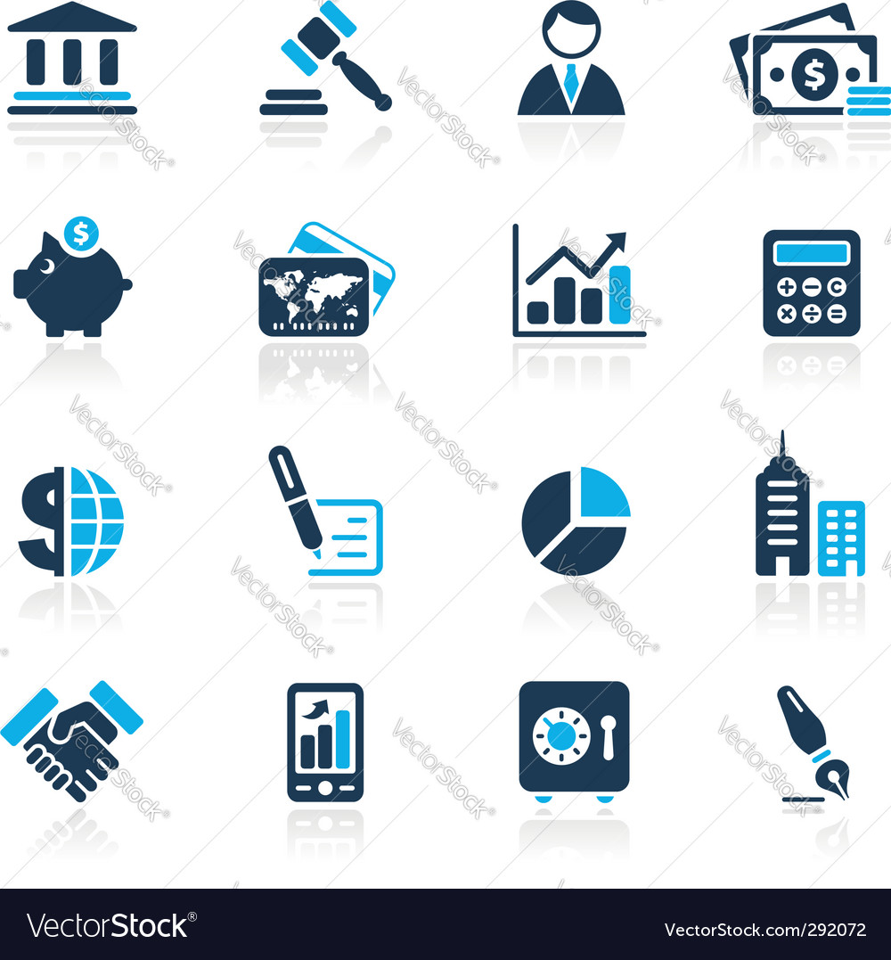 Finance Icon: Finance Icons Royalty Free Vector Image