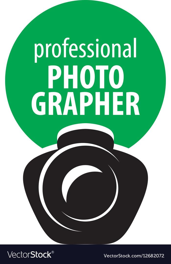 Logo camera the photographer