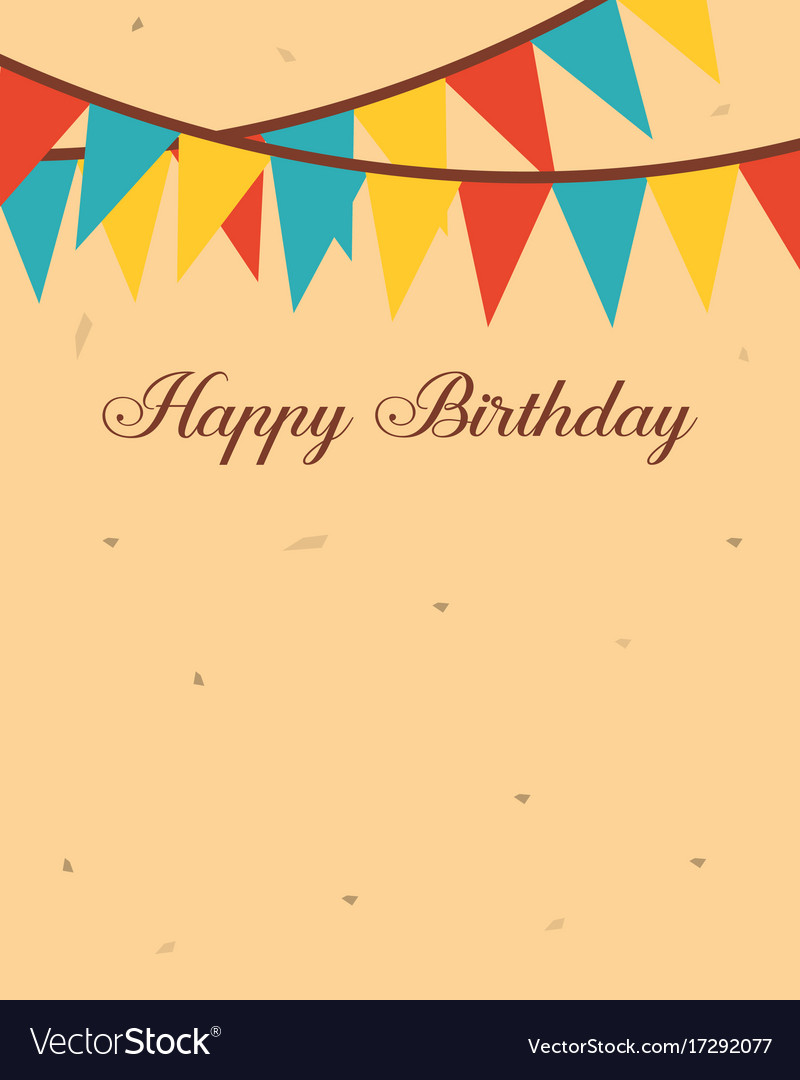 Greeting Card Birthday Party Theme