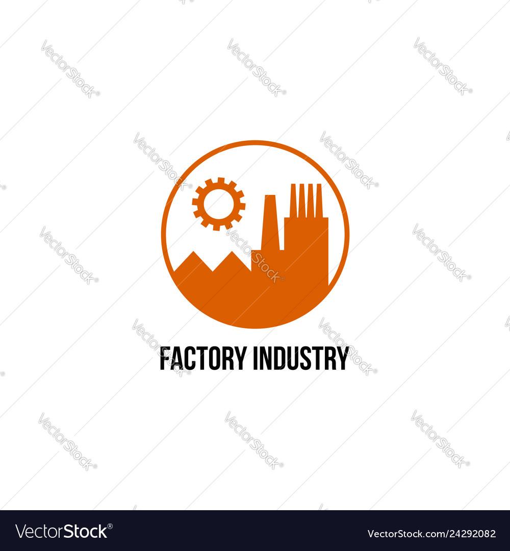 Factory industry logo