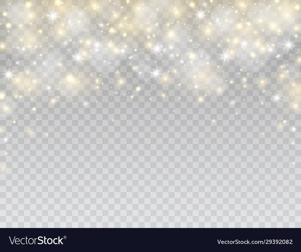 Glowing light effect border star burst with white