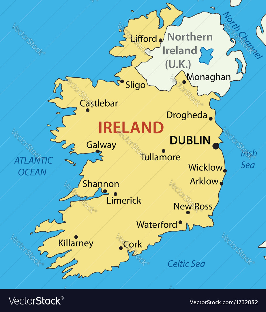 Images Of Map Of Ireland.Republic Of Ireland Map