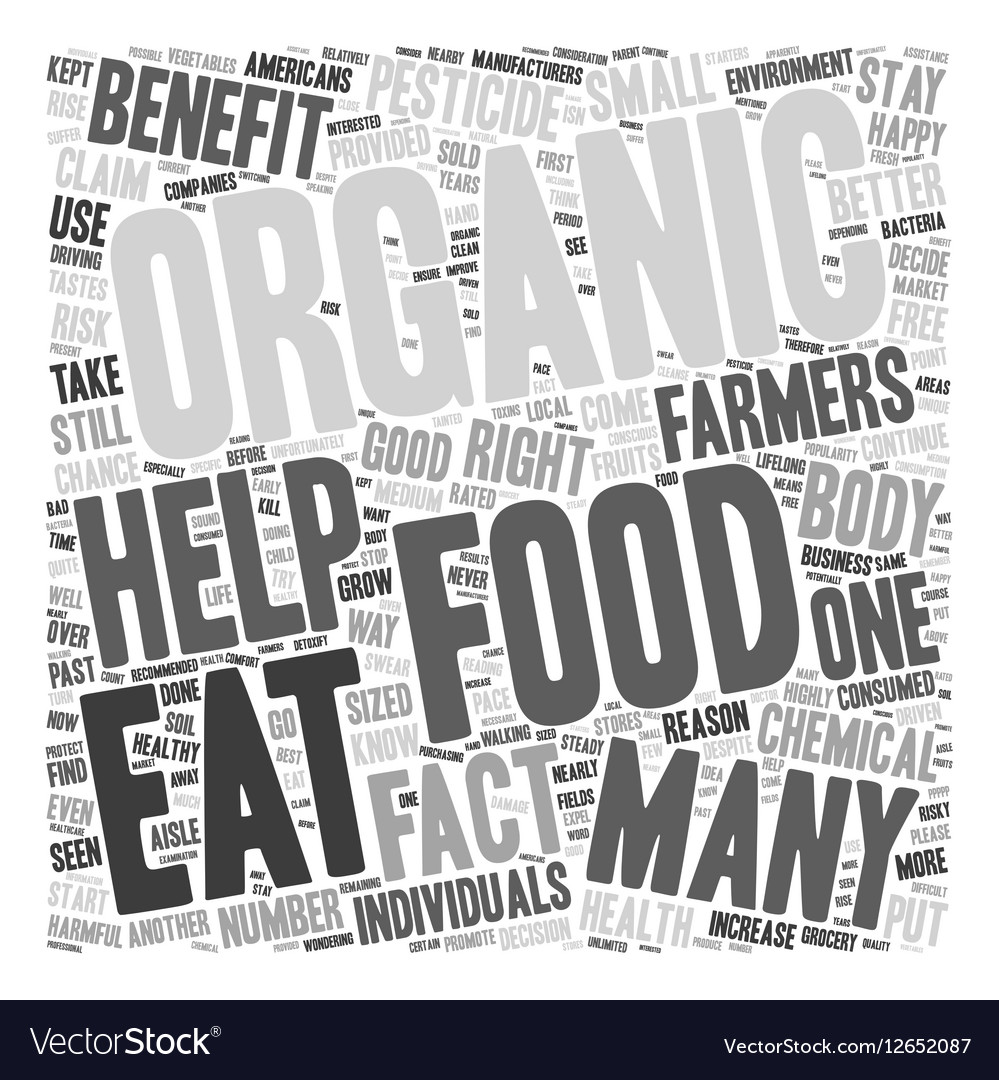 Organic Food Benefits Why You Should Eat Organic