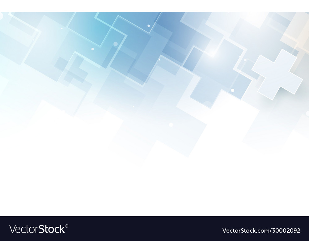 Abstract medical cross shape medicine background