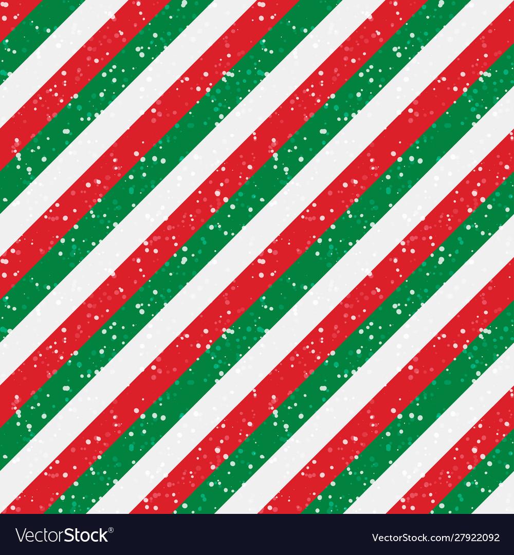 Christmas striped