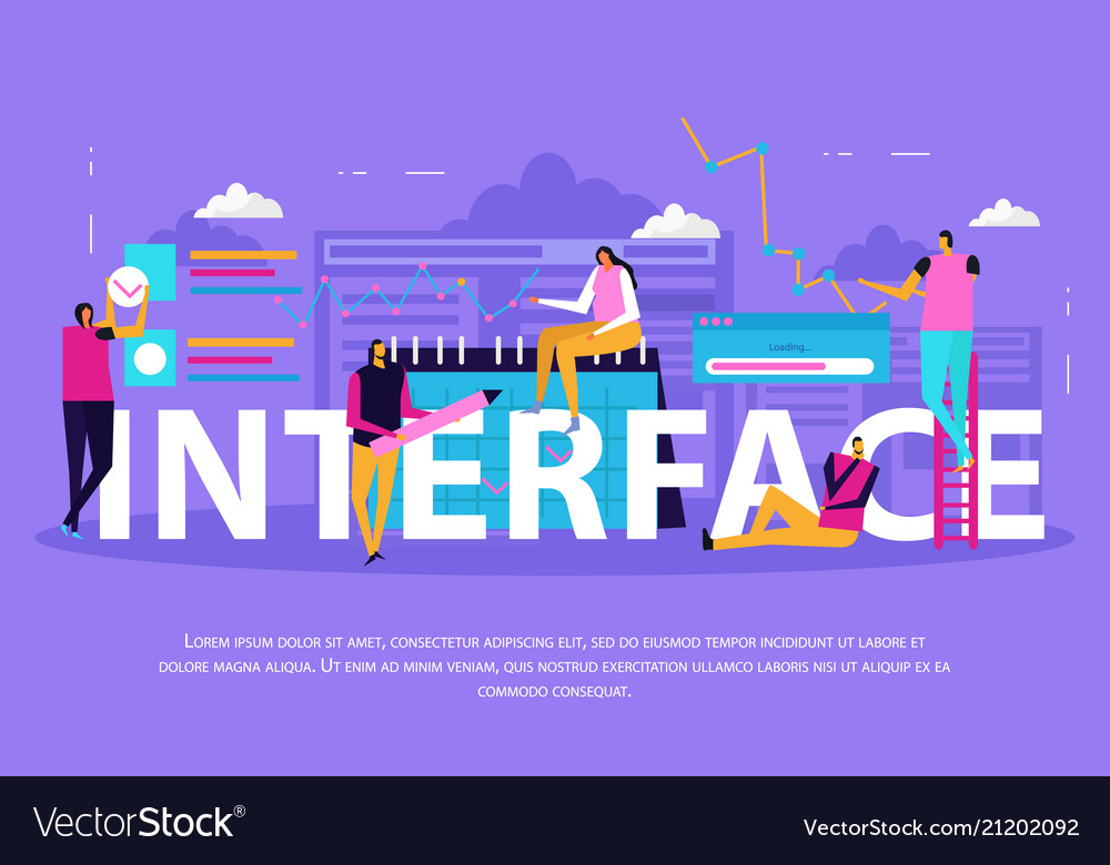 Interface for people background