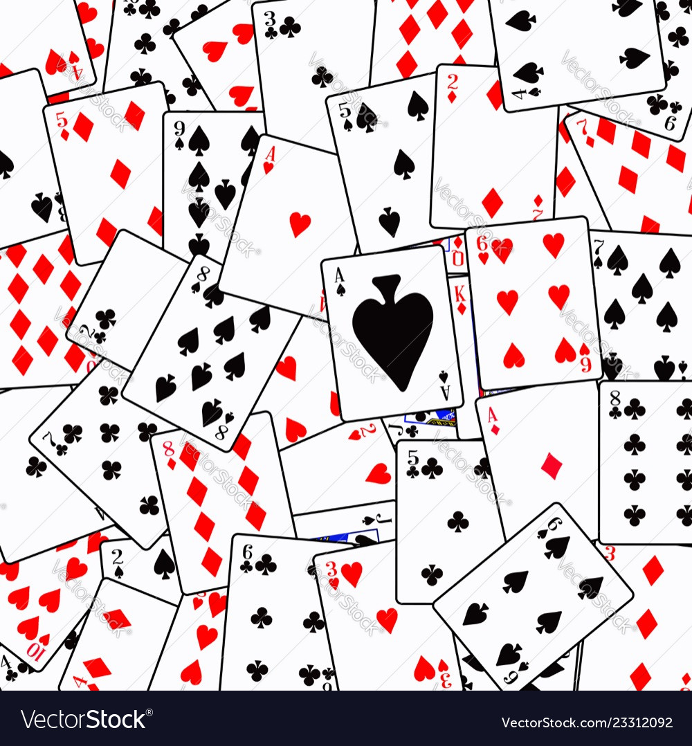 Random playing card background