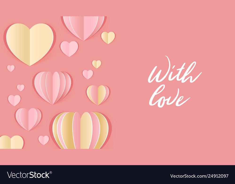 Valentine day design template