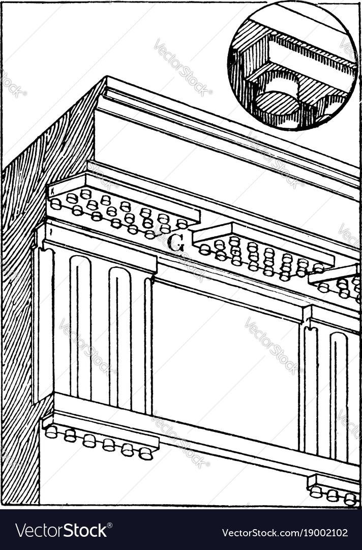 Gutta in doric architecture form of gutta beneath