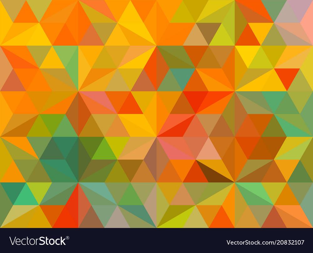 flat retro color geometric triangle wallpaper vector 20832107