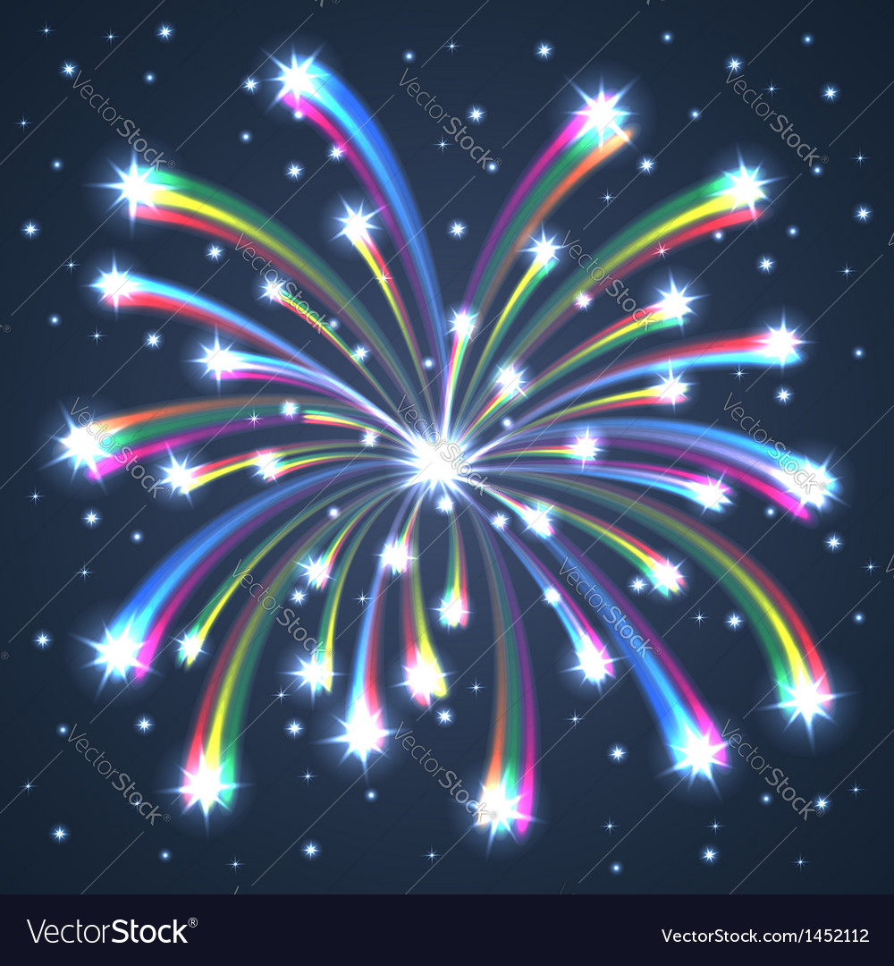 Firework colorful one