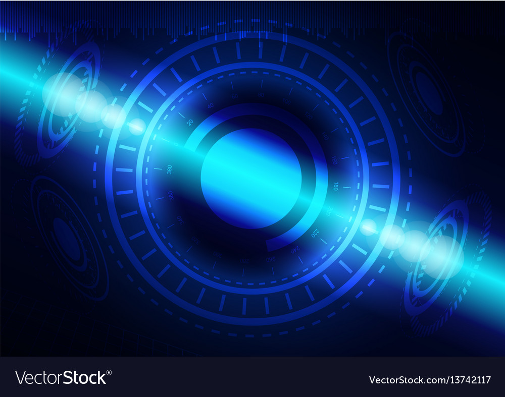 Abstract digital technology color background or