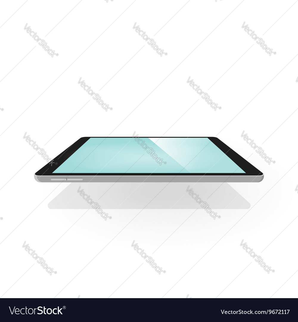 Tablet 3d isolated device with