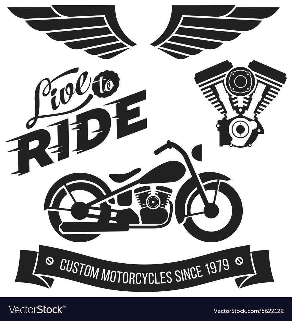 Vintage motorcycle design