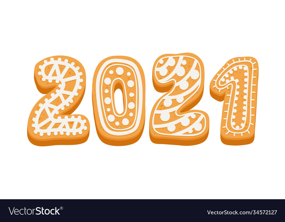 2021 happy new year greeting typography for card