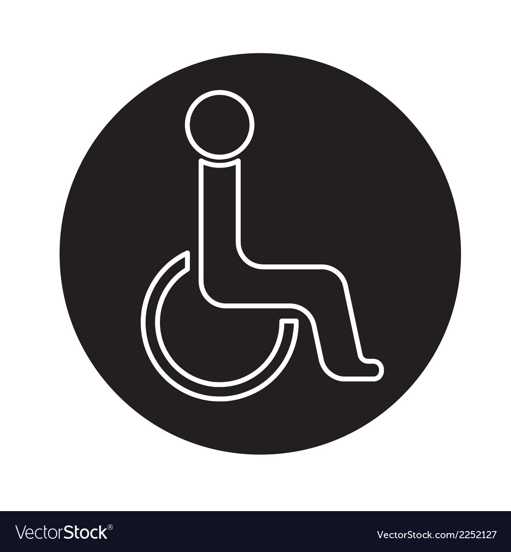 Handicap symbol icon
