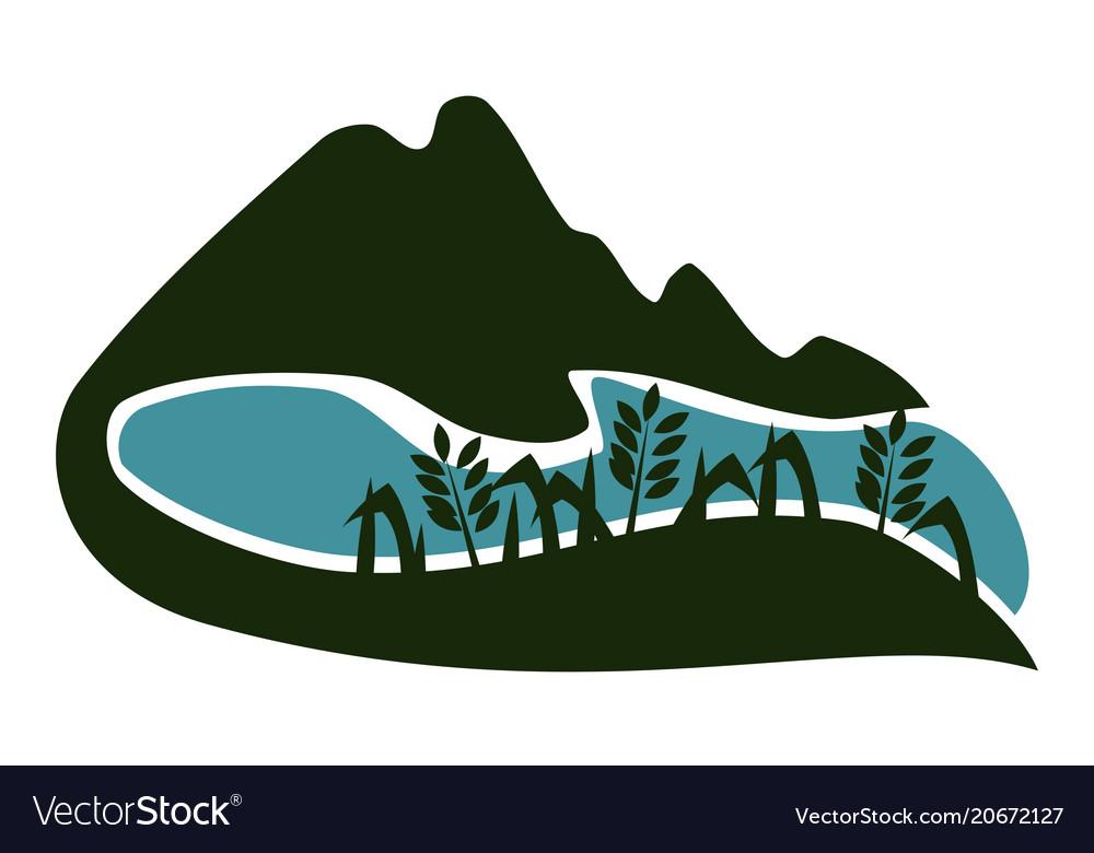 Valley logo design template