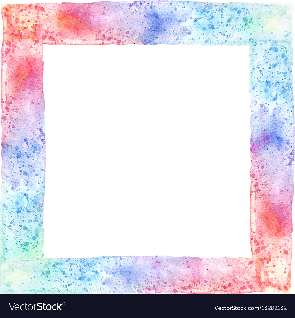 Abstract hand-drawn watercolor background