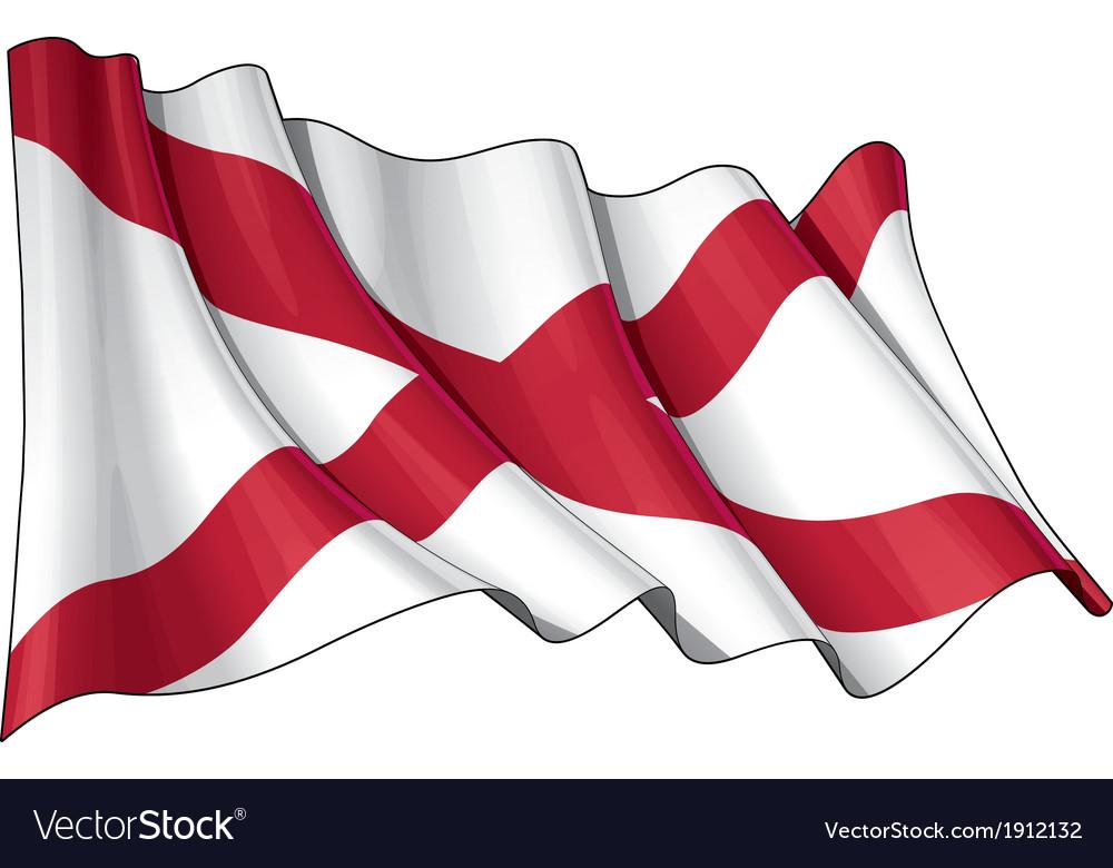 St patricks saltire northern irish flag