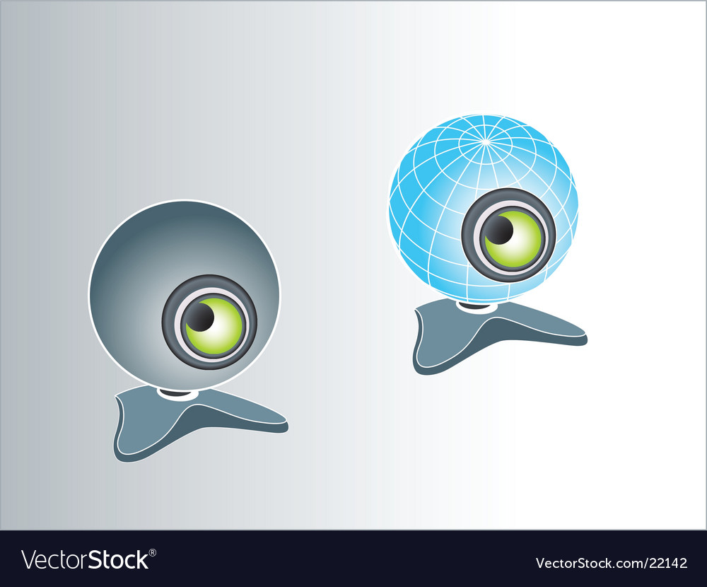 They look at you vector image
