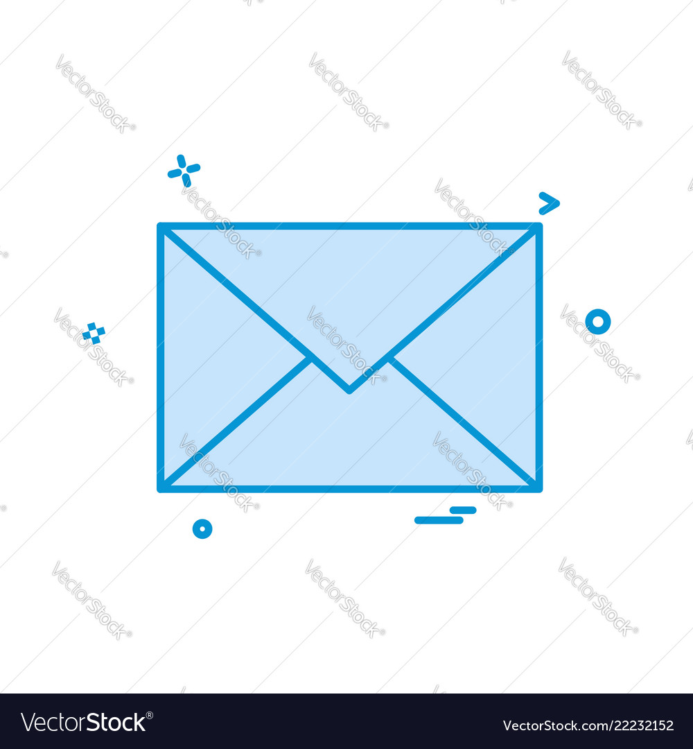 Email envelope icon design
