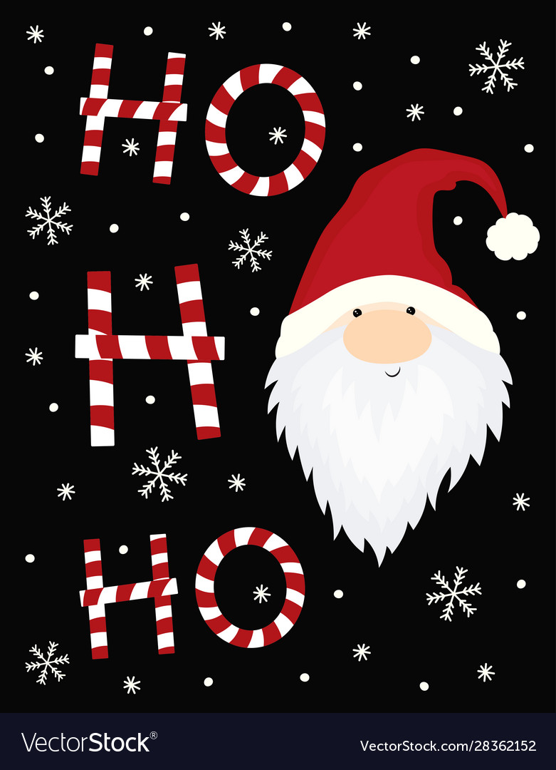 Ho christmas card