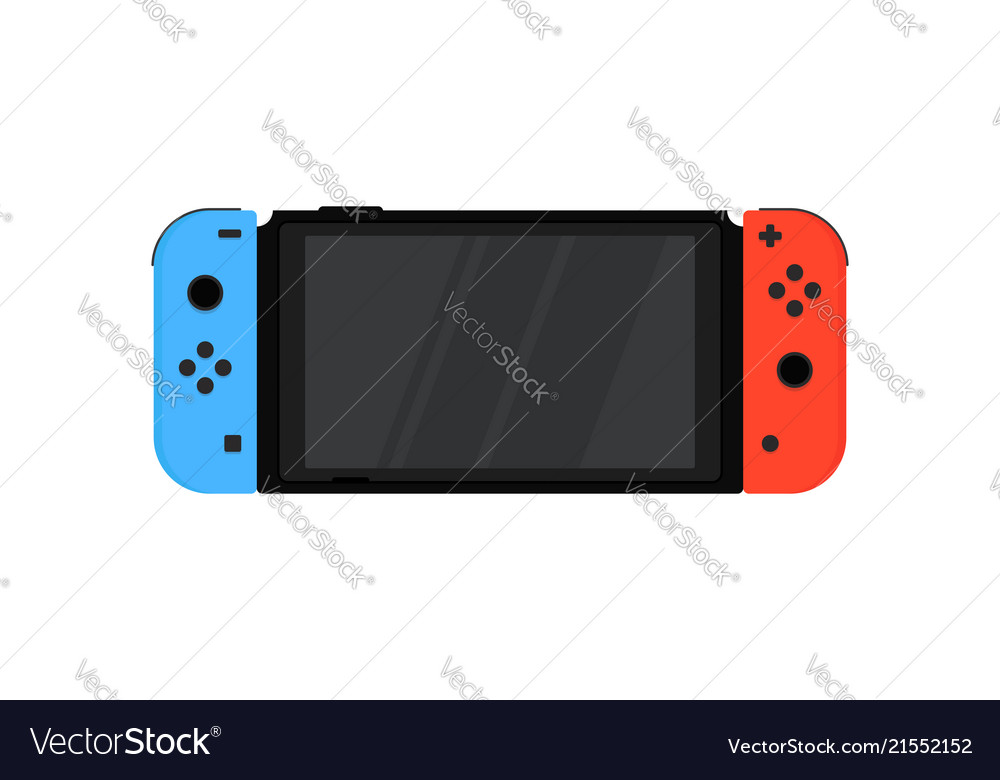 Nintendo switch with wireless controllers joy-con