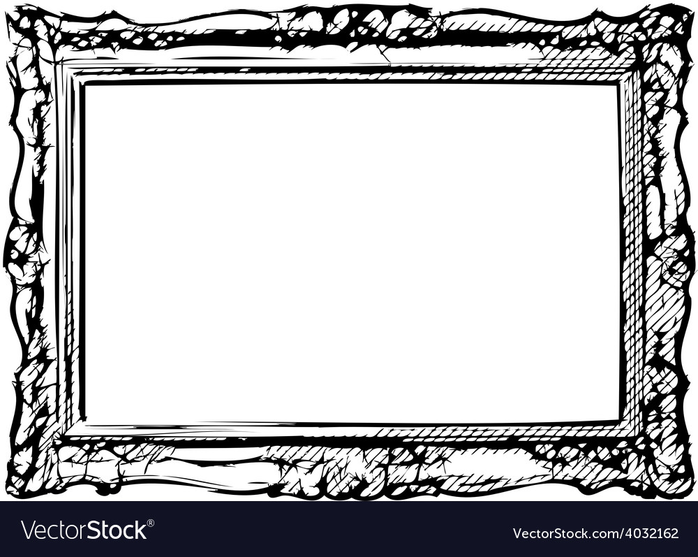 The antique frame