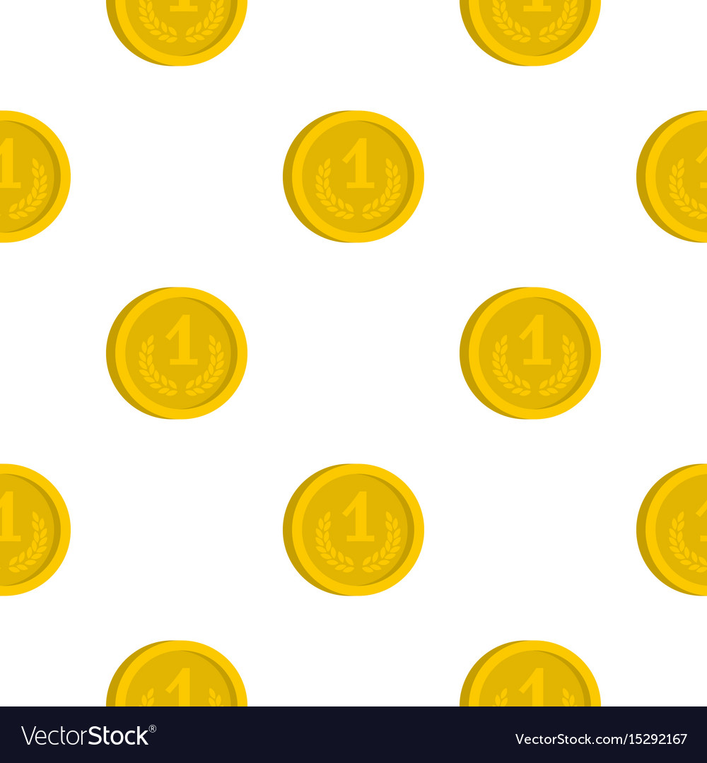 Coin pattern flat
