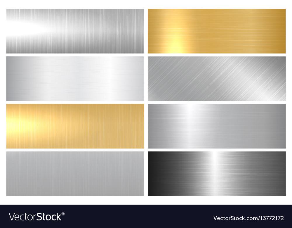 Metal bright textures