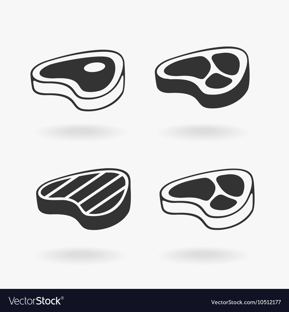 Meat Steak Symbol