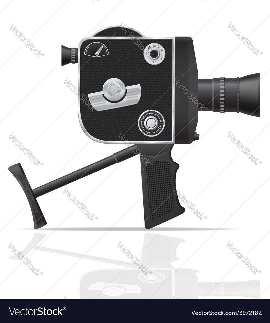 Old retro vintage movie video camera 05