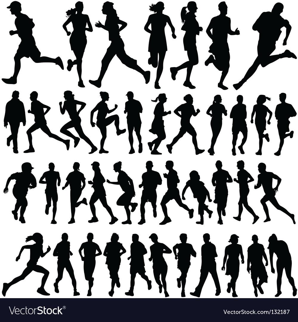Runner people