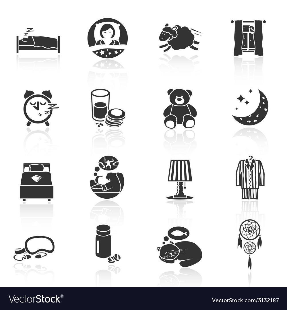 Sleep Time Icons