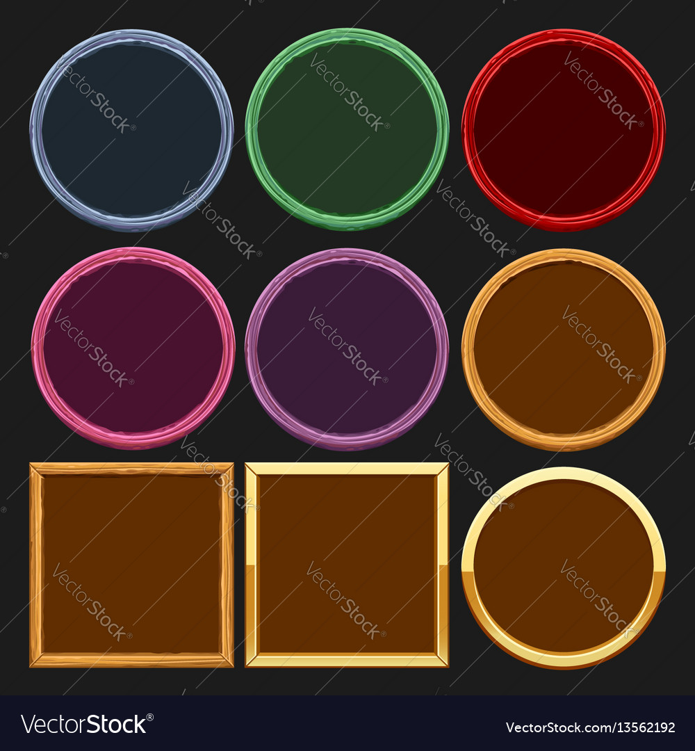 Colored frames collections