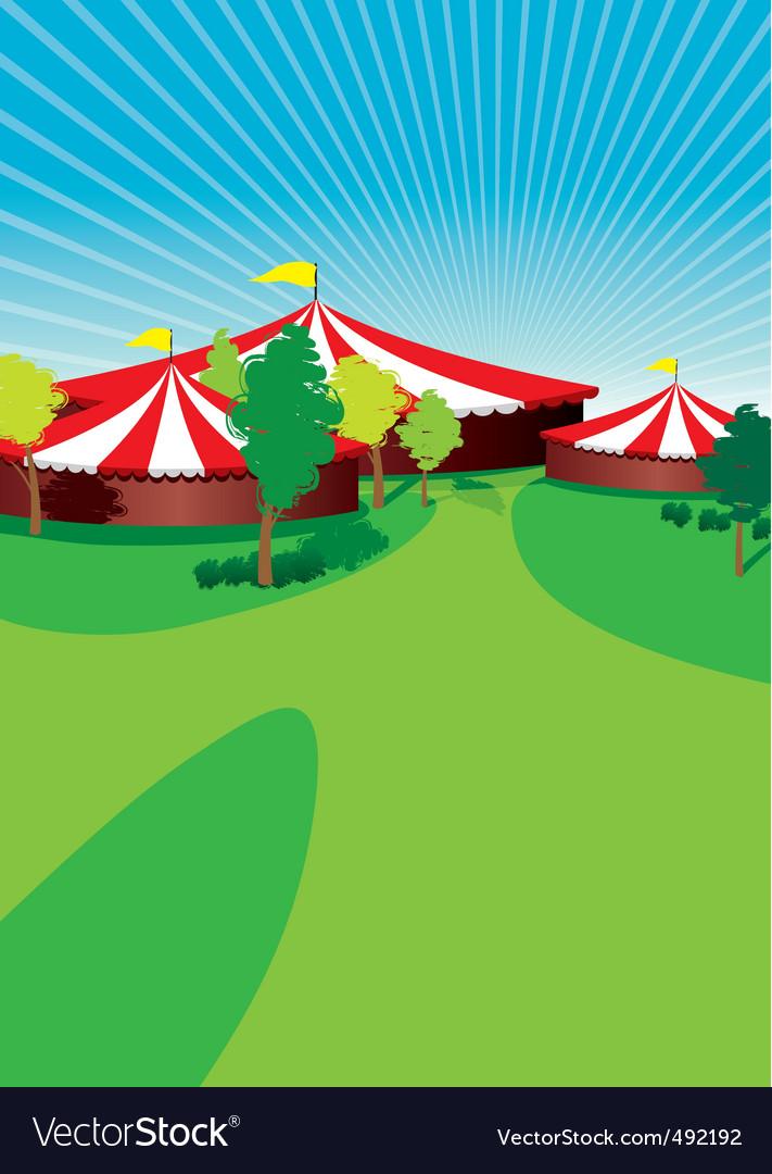 Country fair vector image